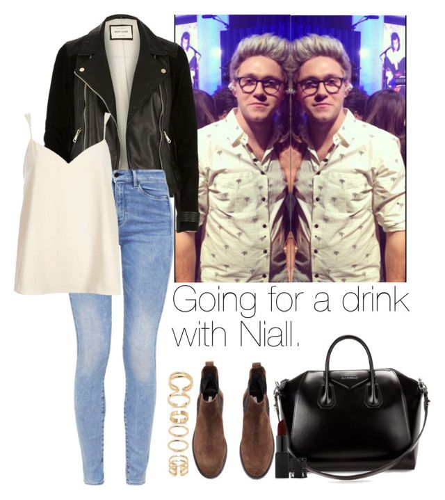 """""""Going for a drink with Niall."""" by aras-aniluap ❤ liked on Polyvore featuring River Island, G-Star, H&M, Forever 21, Givenchy and NARS Cosmetics"""