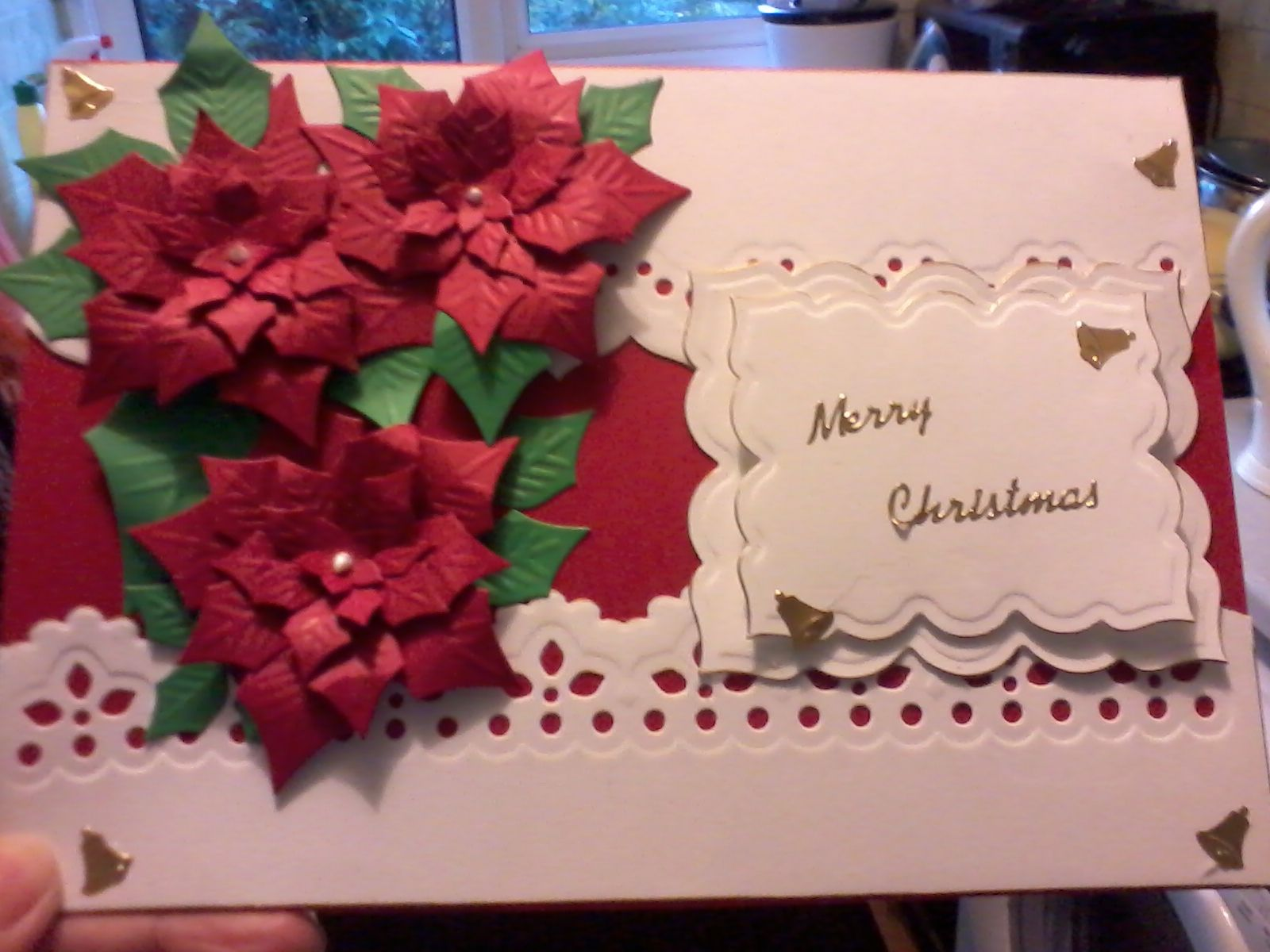one of my hand made christmas card