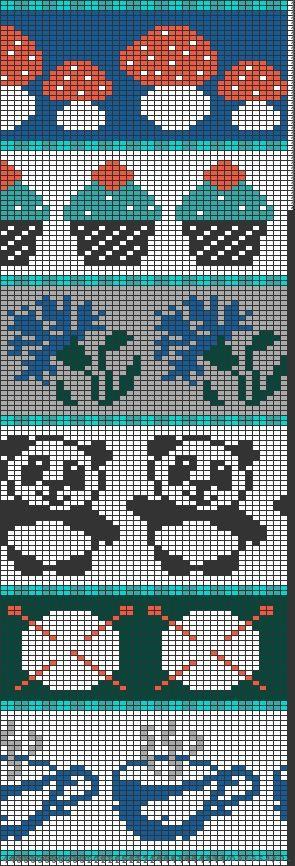 Tricksy Knitter by Megan Goodacre » Pattern Motifs   Motifs and ...