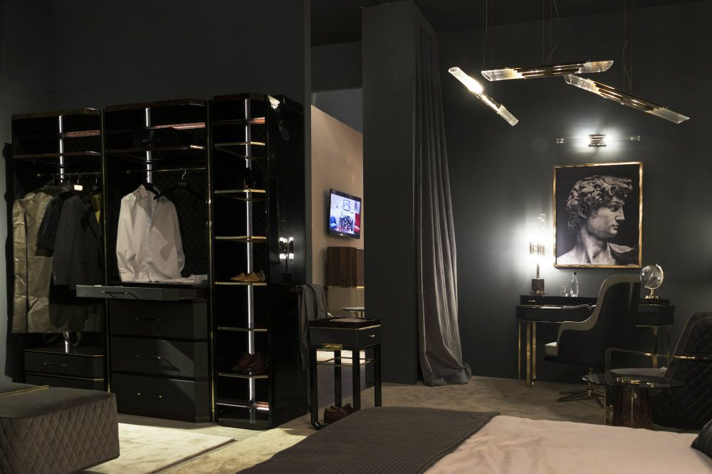 Highlights Of The First Day At iSaloni 2019 | Closet decor, Luxury closet, Luxury bedroom master