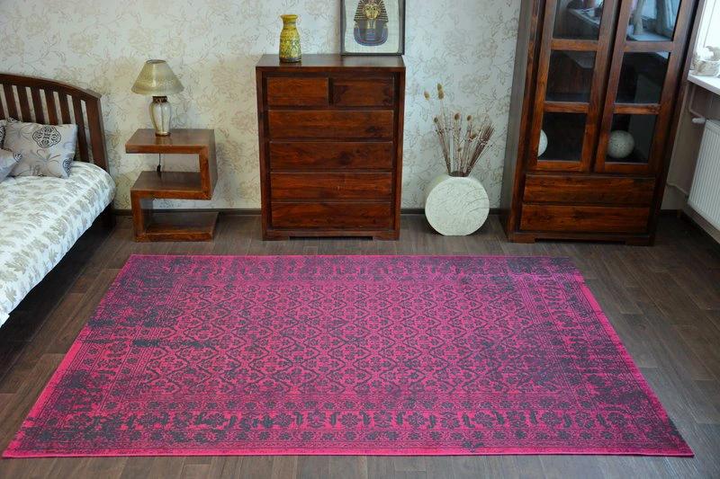 Dywan Vintage 140x200 Kwiaty Bordo B125 7875551528 Oficjalne Archiwum Allegro Carpet Home Decor Decor