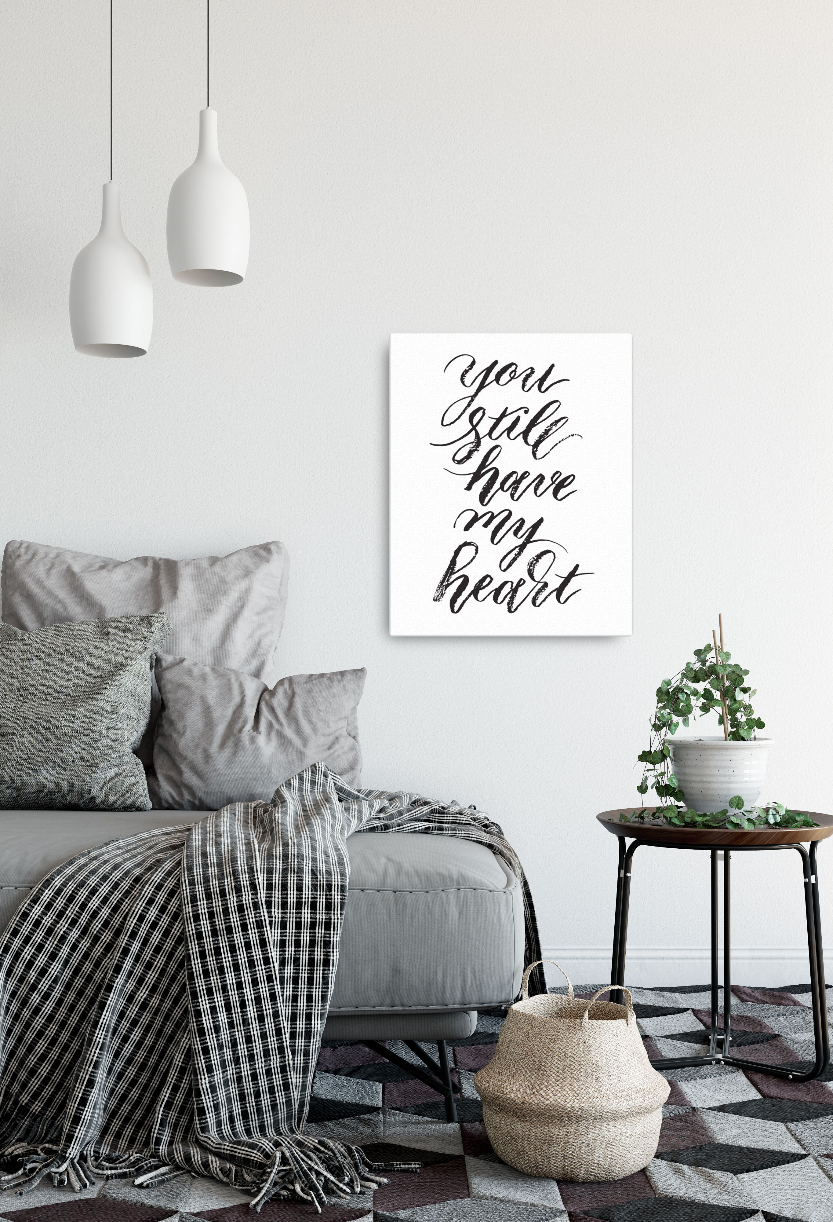 You Still Have My Heart Canvas Romantic Bedroom Art Would