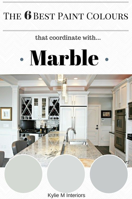 The 6 Best Paint Colors To Coordinate With Marble Best Paint