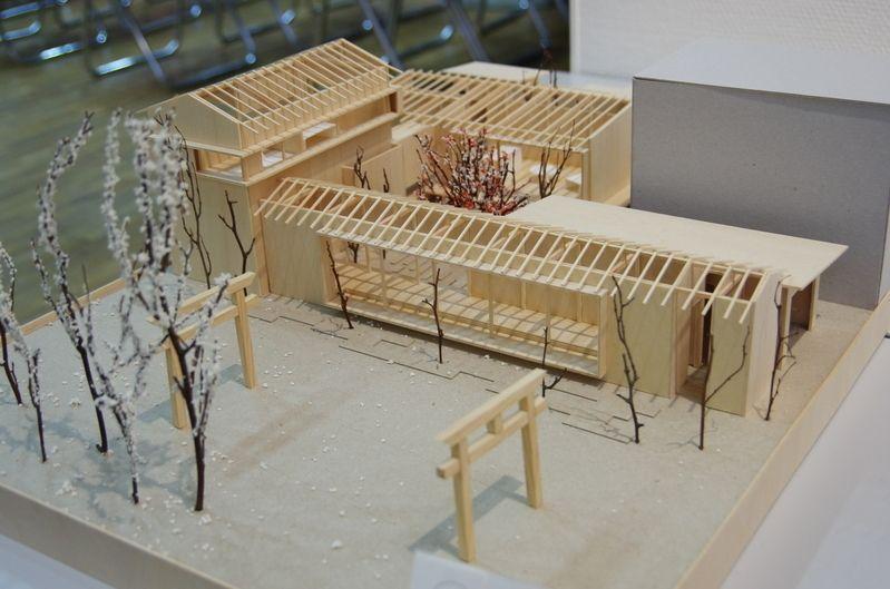 受賞作品 木の家設計グランプリ 建築モデル 建築 ポートフォリオ