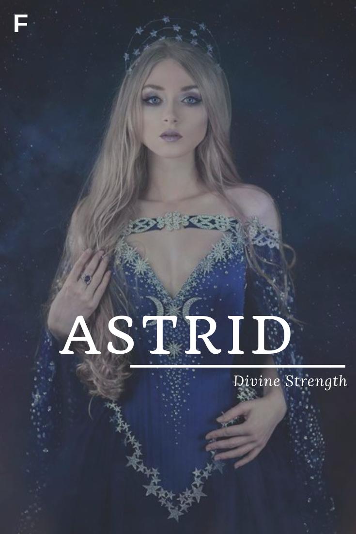 Astrid | Scandinavian names, Baby girl names unique, Girl ...