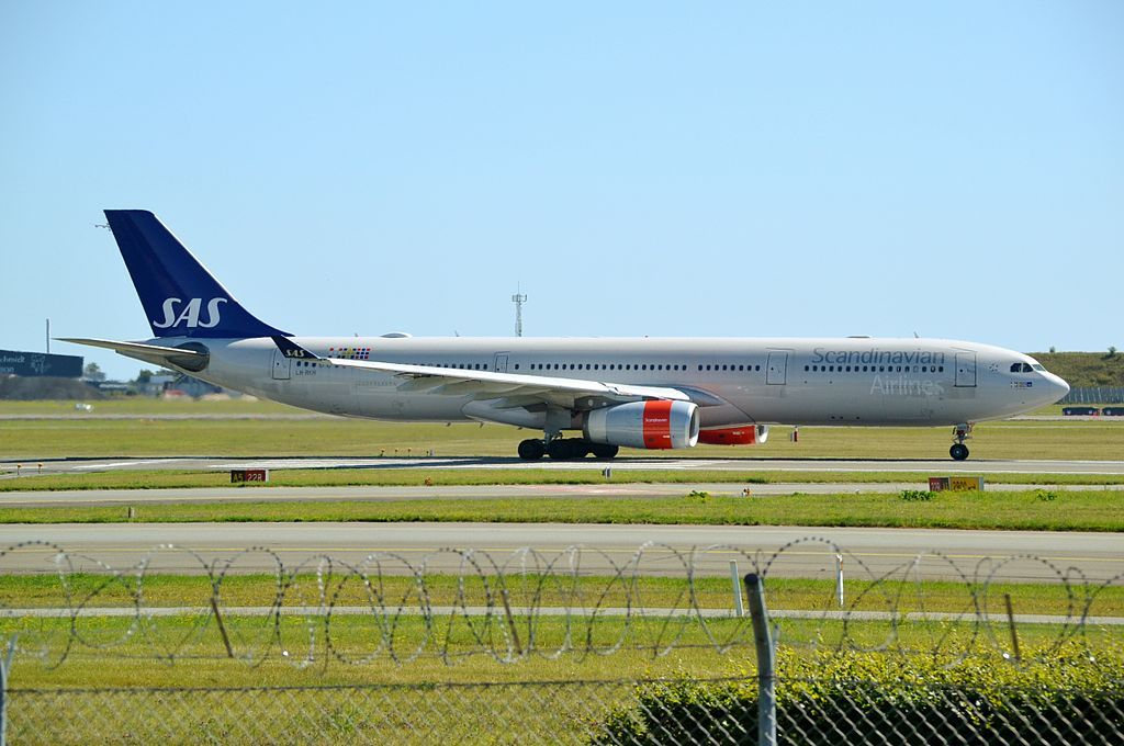 Airbus A330 343 Ln Rkh Emund Viking Sas Scandinavian Airlines At Copenhagen Fleet Sas Airlines Airbus