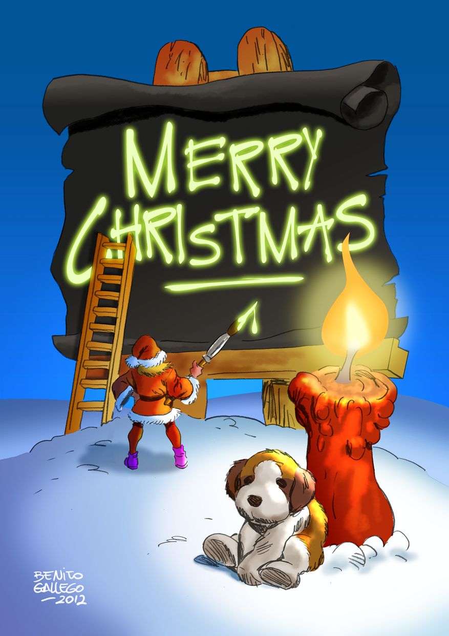 MERRY CHRISTMAS by ~benitogallego on deviantART
