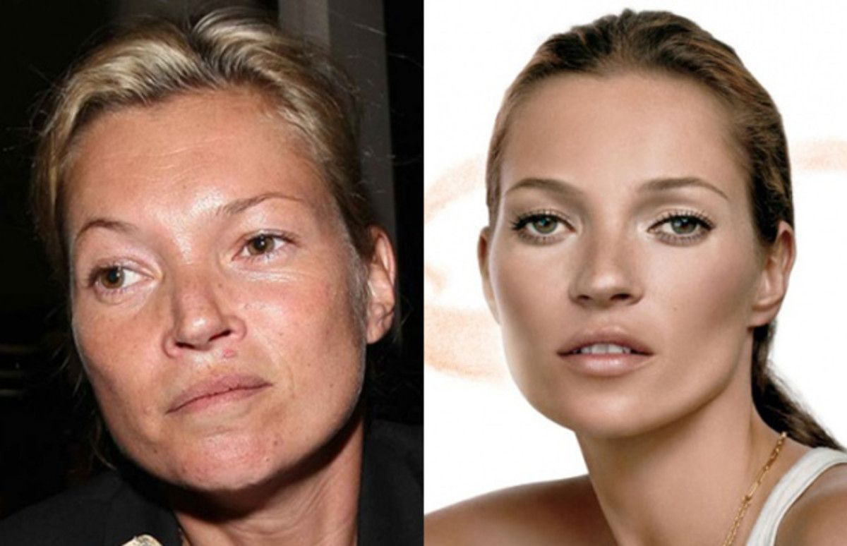 Gallery: Supermodels Without Makeup or Photoshop | Complex