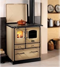 Awesome Sideros Stoves Sogno Cappuccino Wood Burning Stoves Design Inspirations
