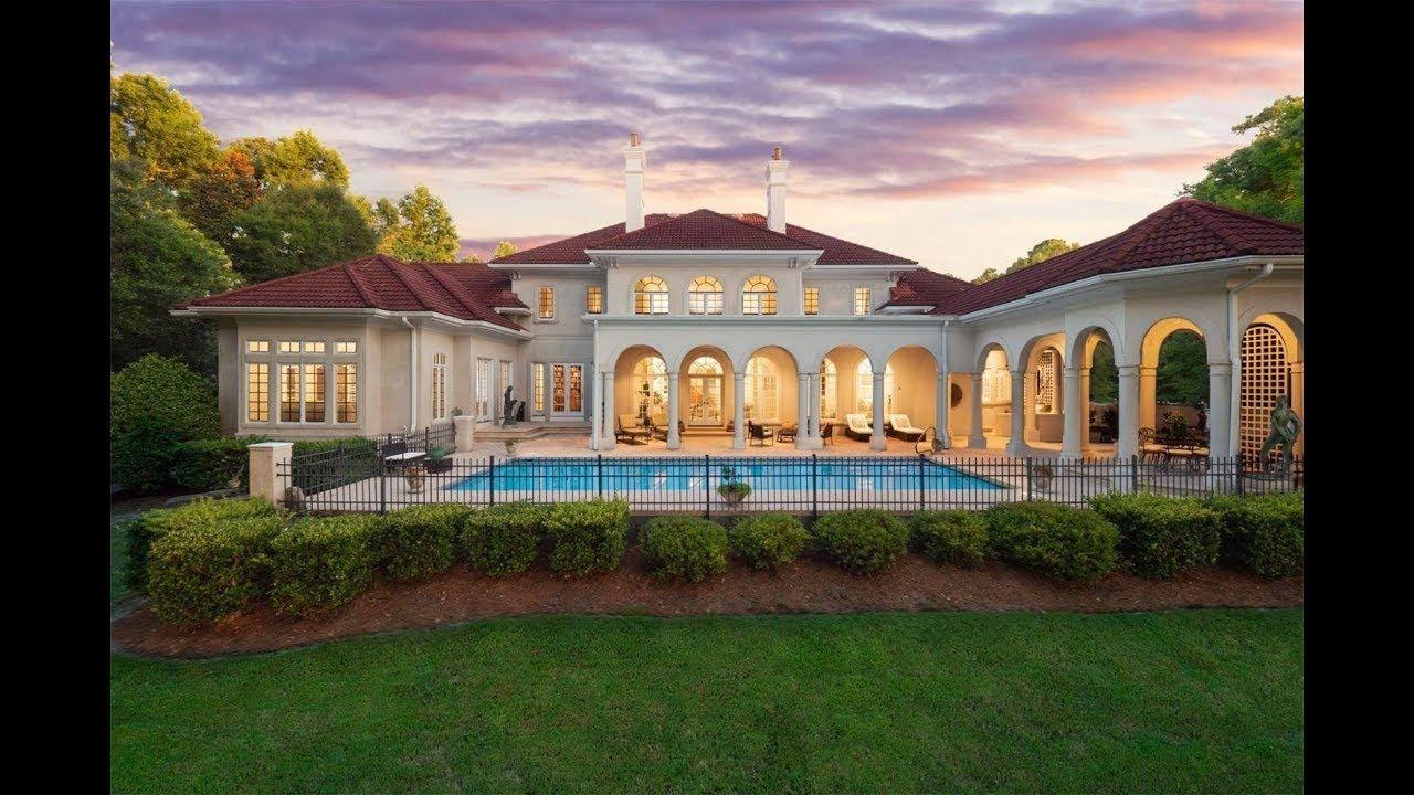 Mediterranean Inspired Mansion In Wilmington North Carolina