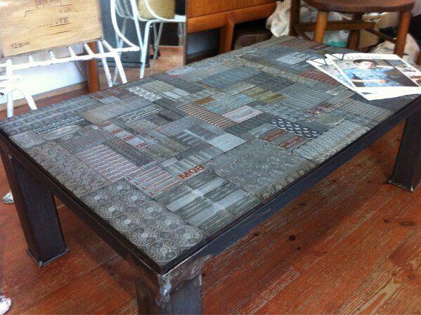 Printing Blocks Table Top Google Search Wood Printing Blocks Block Table Wood Print