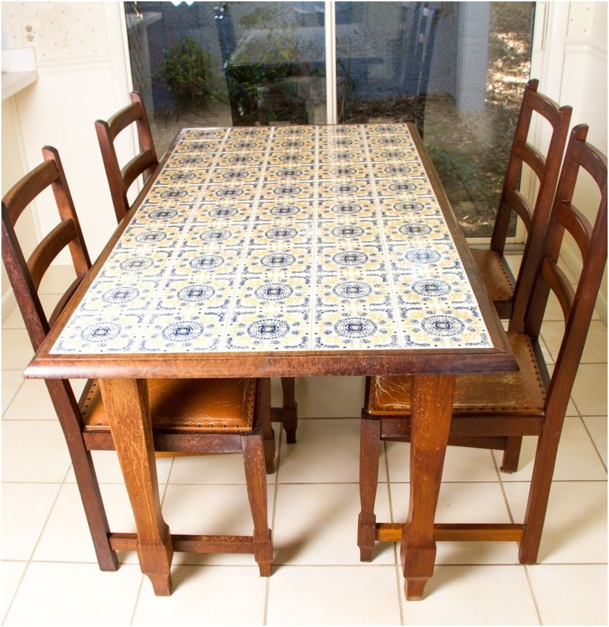 Tile Dining Table Theradmommy Dining Room Table Makeover Tile Top Tables Dining Table Chairs