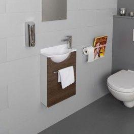 lave mains mikro court droit avec son lavabo et son meuble lave mains porte et c t s du meuble. Black Bedroom Furniture Sets. Home Design Ideas