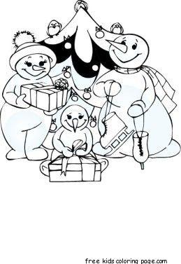 carol clock christmas coloring pages family fargelegge tegninger