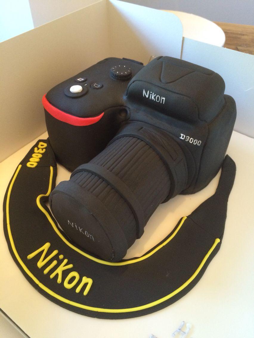 Nikon Camera Cake Images : Nikon camera cake motivtorten Pinterest Camera cakes ...