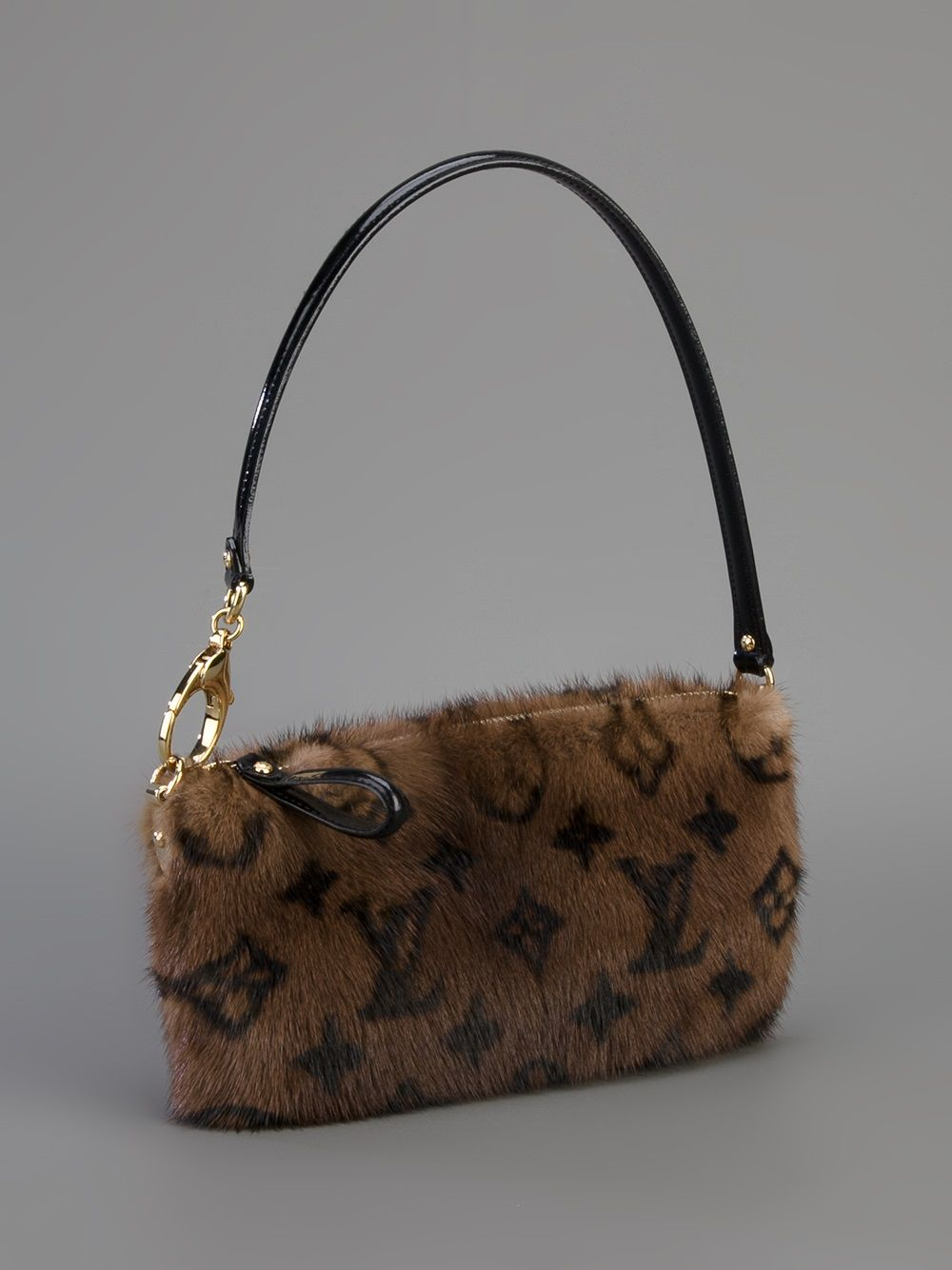 cbdd14ff9046c Louis Vuitton Vintage Mink Fur Shoulder Bag - - Farfetch.com