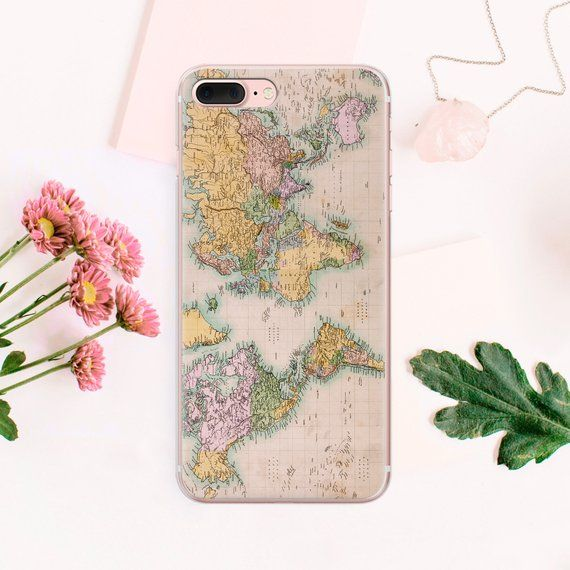 World Map Iphone 6s Case.World Map Iphone 8 Case Se Phone Cover Iphone X Phone Iphone Case 6