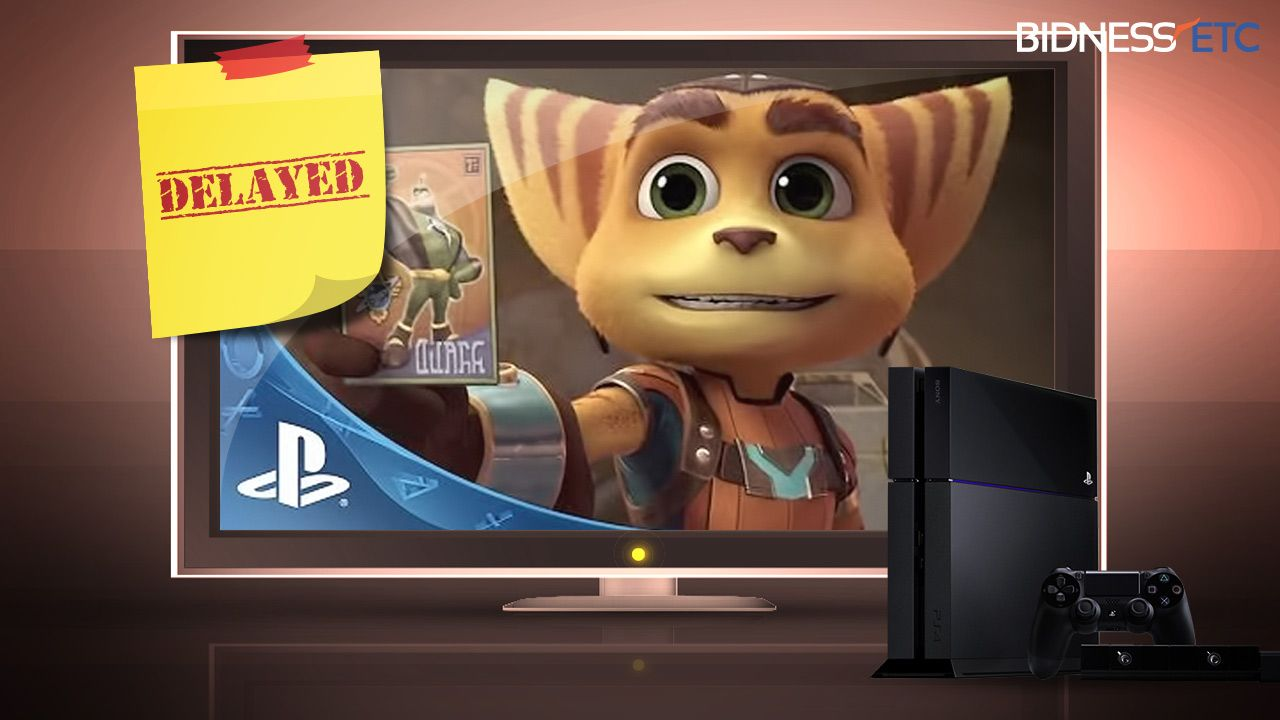 Sony Corp PS4 Exclusive Ratchet And Clank Delayed Till Spring 2016