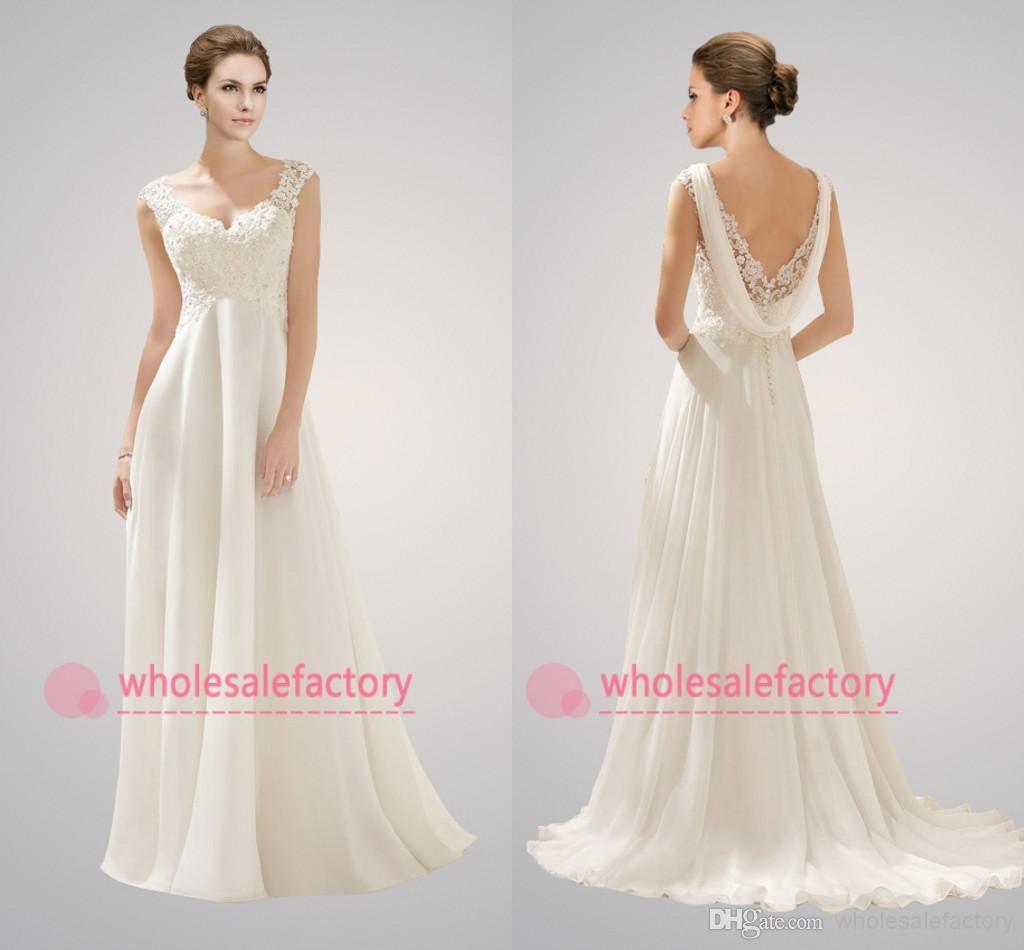 Cheap Elegant Off The Shoulder Lace A Line Wedding Dresses 2018 ...