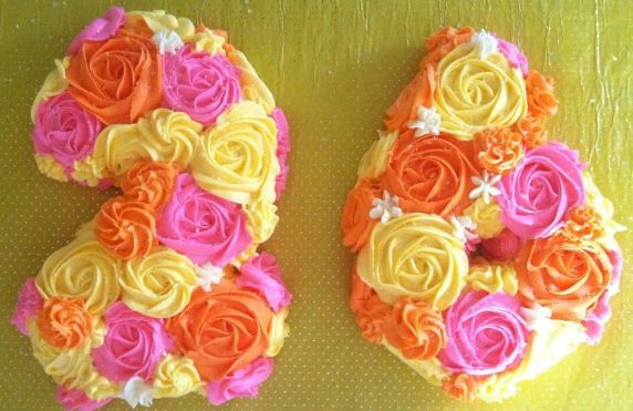 Birthday Cakes Macarthur ~ Th birthday cake with roses pretty hint hint tina doshi