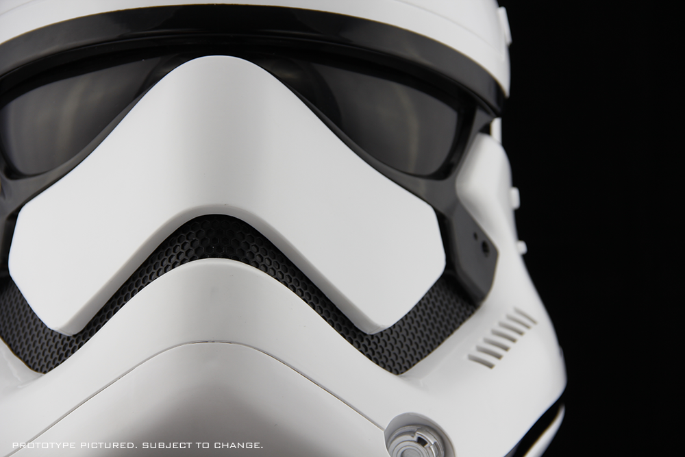 Star Wars The Force Awakens First Order Stormtrooper Helmet Accessory Anovos Productions Llc Stormtrooper Helmet Stormtrooper Star Wars Trooper