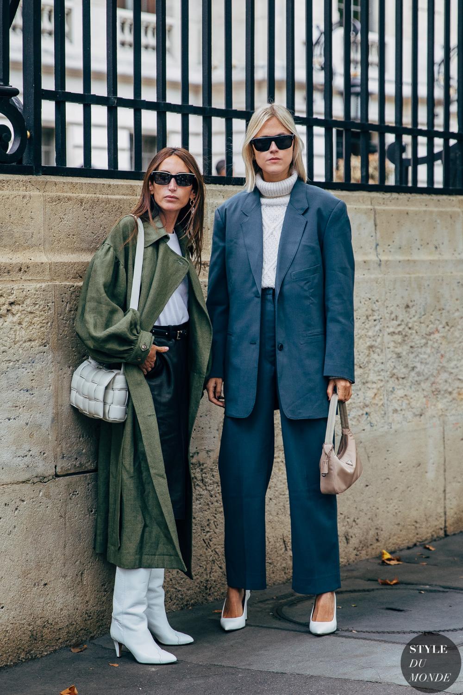 Photo of Paris SS 2020 Street Style: Linda Tol and Chloe Harrouche – STYLE DU MONDE   Street Style Street Fashion Photos Linda Tol and Chloe Harrouche