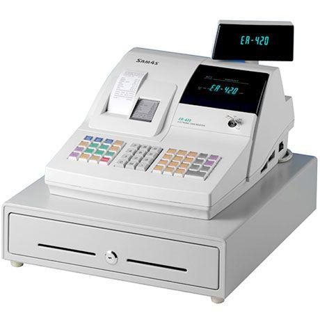 Controlador Fiscal Sam4s Er420 Caja Registradora Cajas