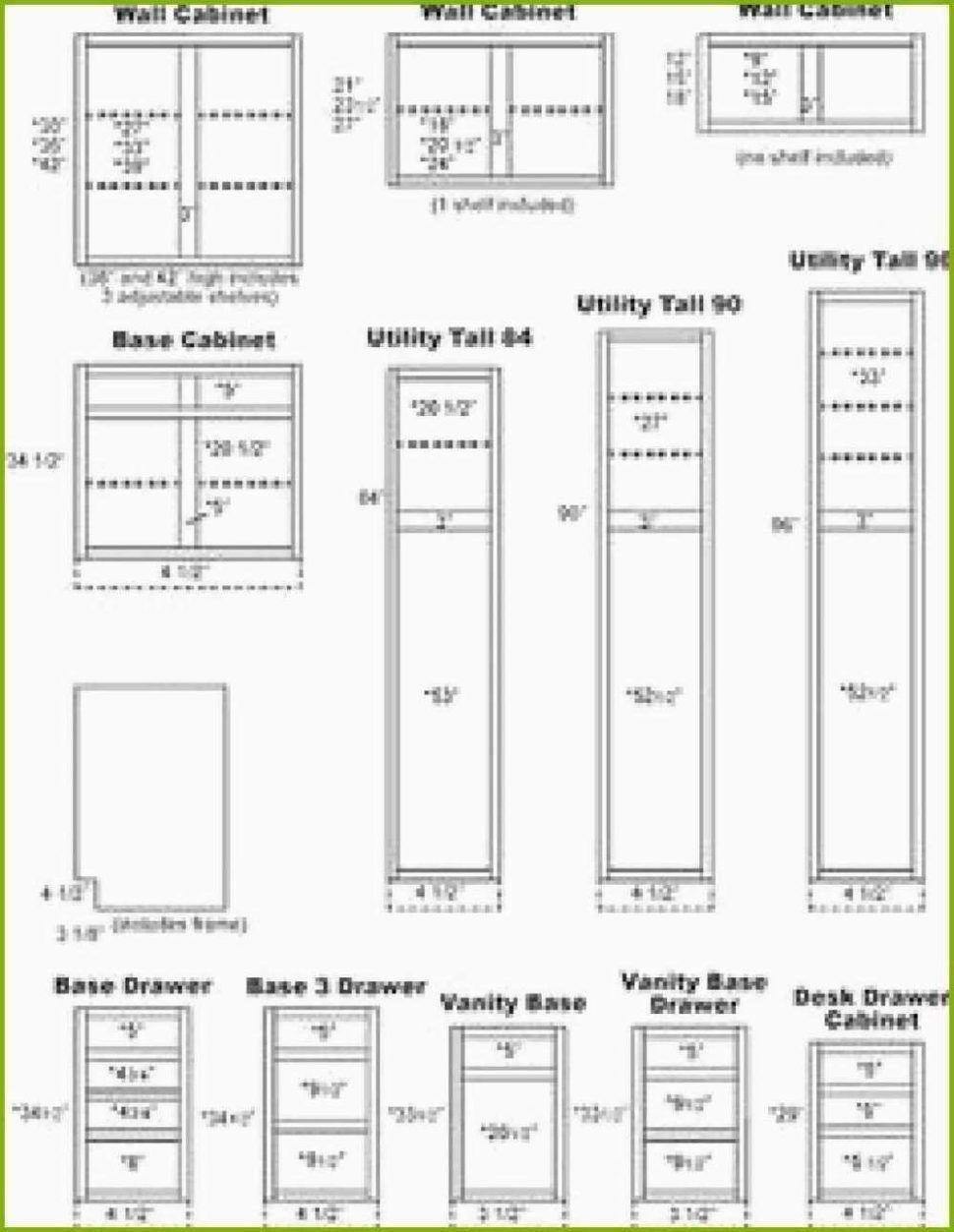 Küche Schrank Abmessungen - Küchenschrank Maße – Ein