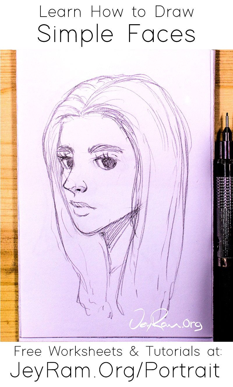 How To Draw Faces Tutorial Series In 2020 Drawing Tutorial Drawings Face Drawing