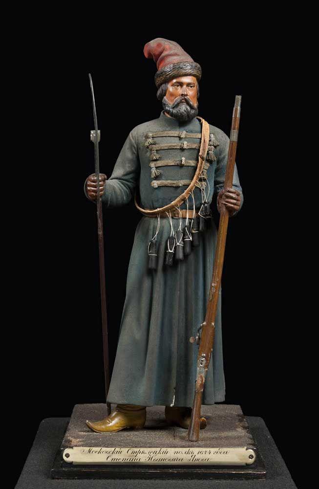 Vassily Gazemberger, Statuetta di tiratore del reggimento Stepan Ianov, 1860, Museo Stibbert, Firenze