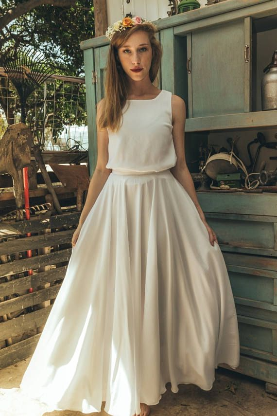 6562bb7aa1 70s wedding dress, 1970 wedding dress, White harley quinn wedding ...