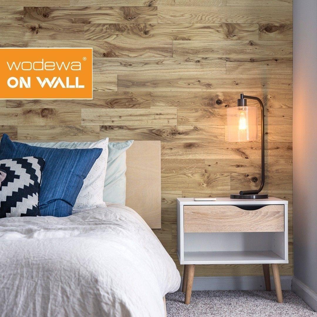 Wandgestaltung Mit Holz Im Schlafzimmer In 2020 Wandgestaltung Moderne Einrichtung Zimmer