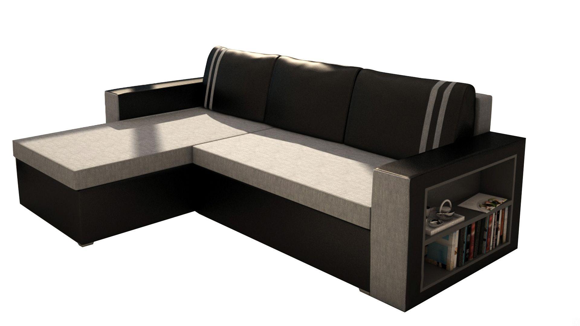 Sofa Couch Ecksofa Eckcouch Schlaffunktion Bettkasten