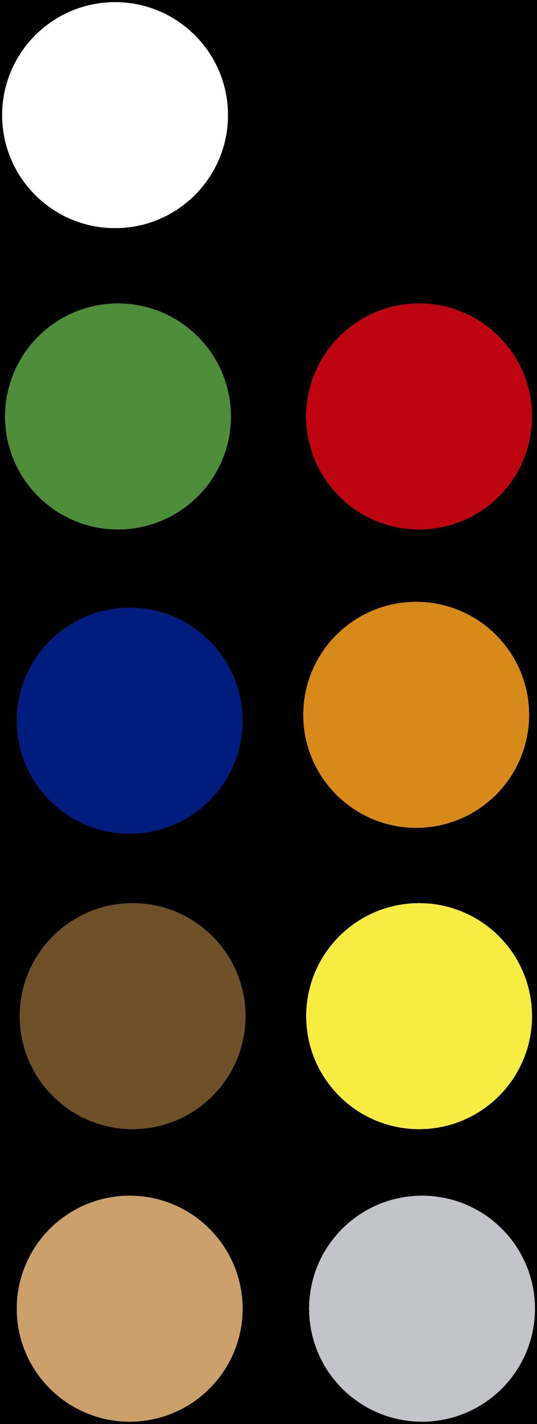 Paleta de colores - Caleta Tumbes