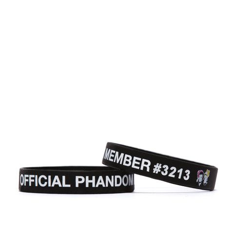 Official Phandom Member Wristband – Dan & Phil Shop - http://www.danandphilshop.com/collections/wearables/products/official-phandom-wristband