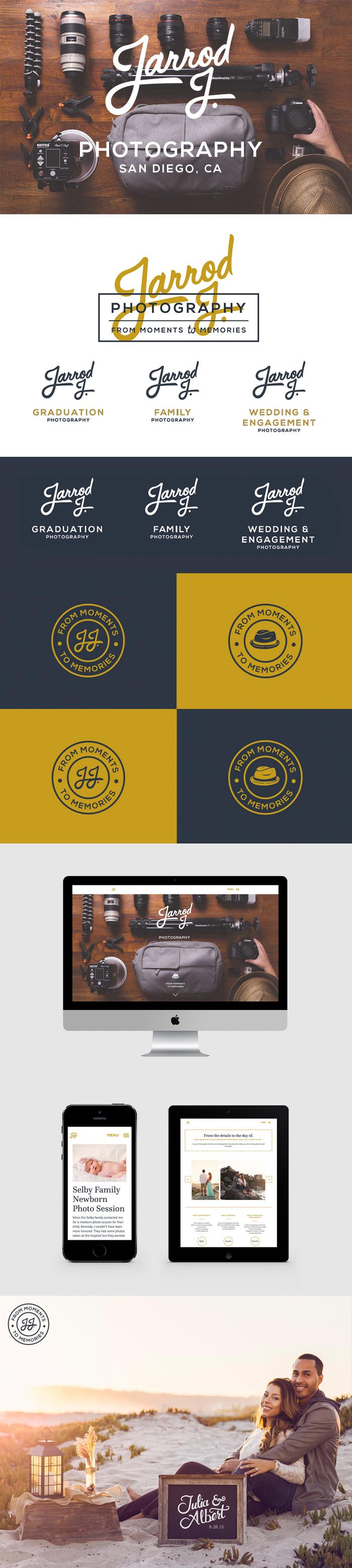 Brand work and responsive website development by MM Brand