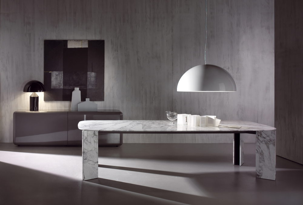 Rectangular Marble Table Maxwell Rectangular Table By Acerbis Design Massimo Castagna In 2020 Dining Table