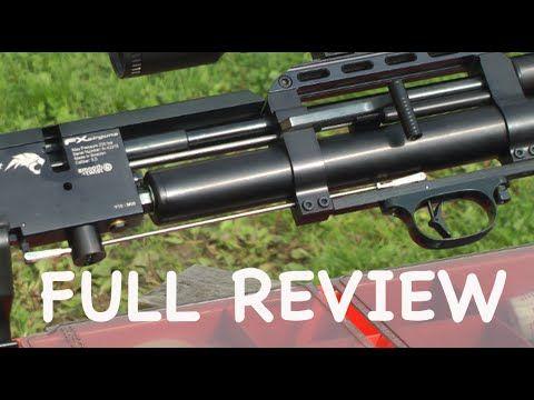 FULL TEST : FX Wildcat Airgun  22 - 100 Yard Air Rifle