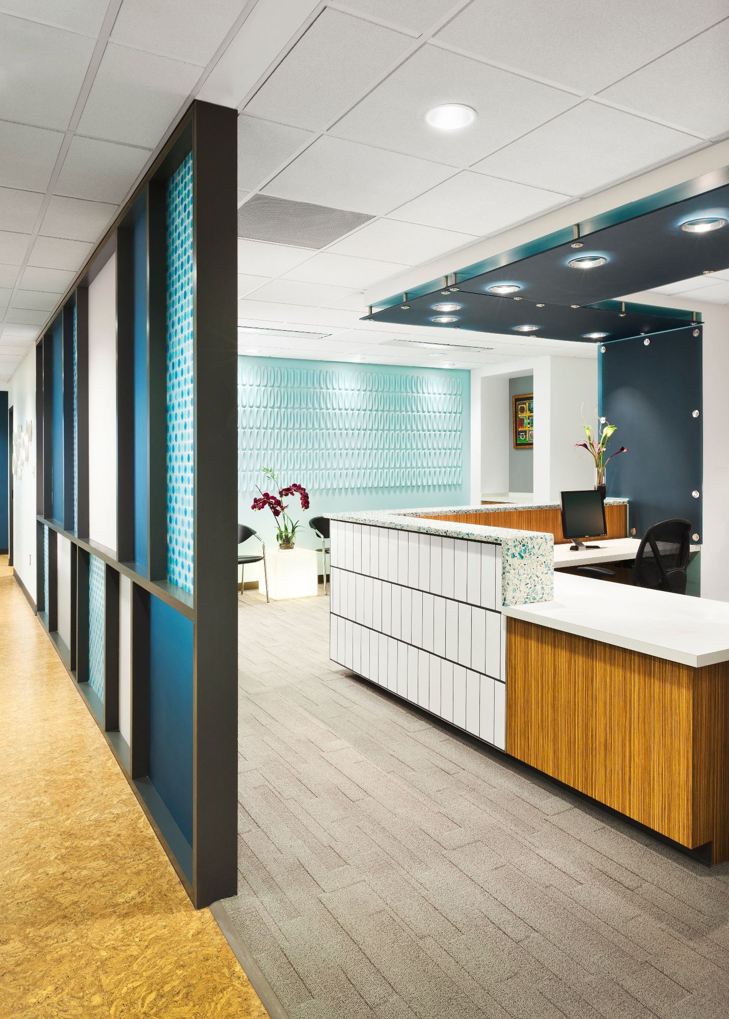 dental office reception space themed levin reception family dental in 2018 design reception desks pinterest