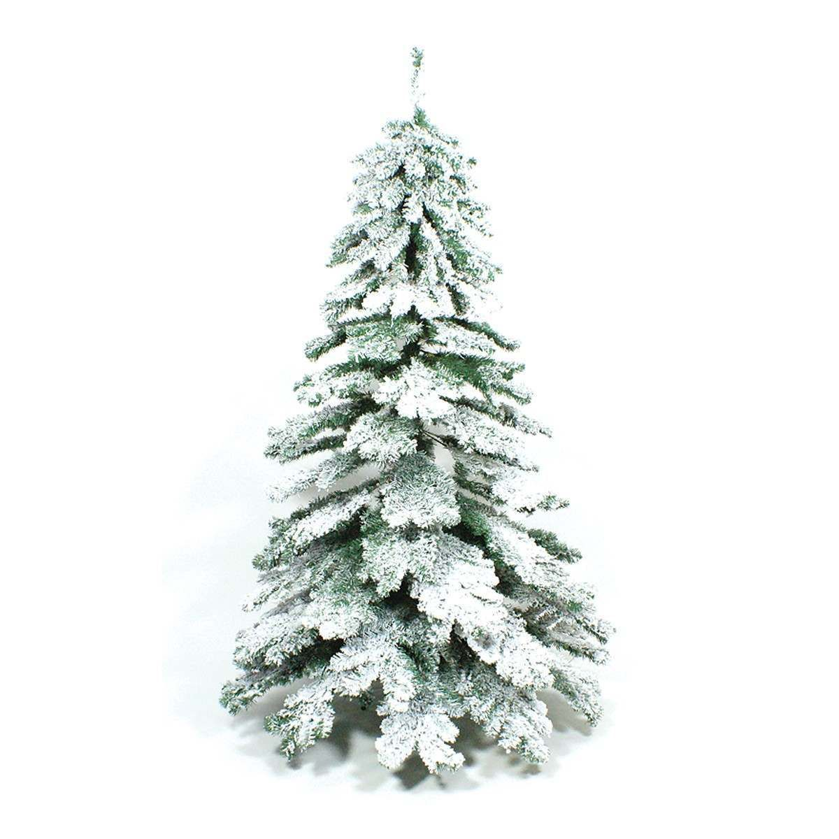 Praying For A White Christmas Then We Have To Answer This Unique 6 8ft Snow Covered Realistic Green Tree Will Be The Perfect 7ft Christmas Tree Christmas Tree Flocked Artificial Christmas Trees