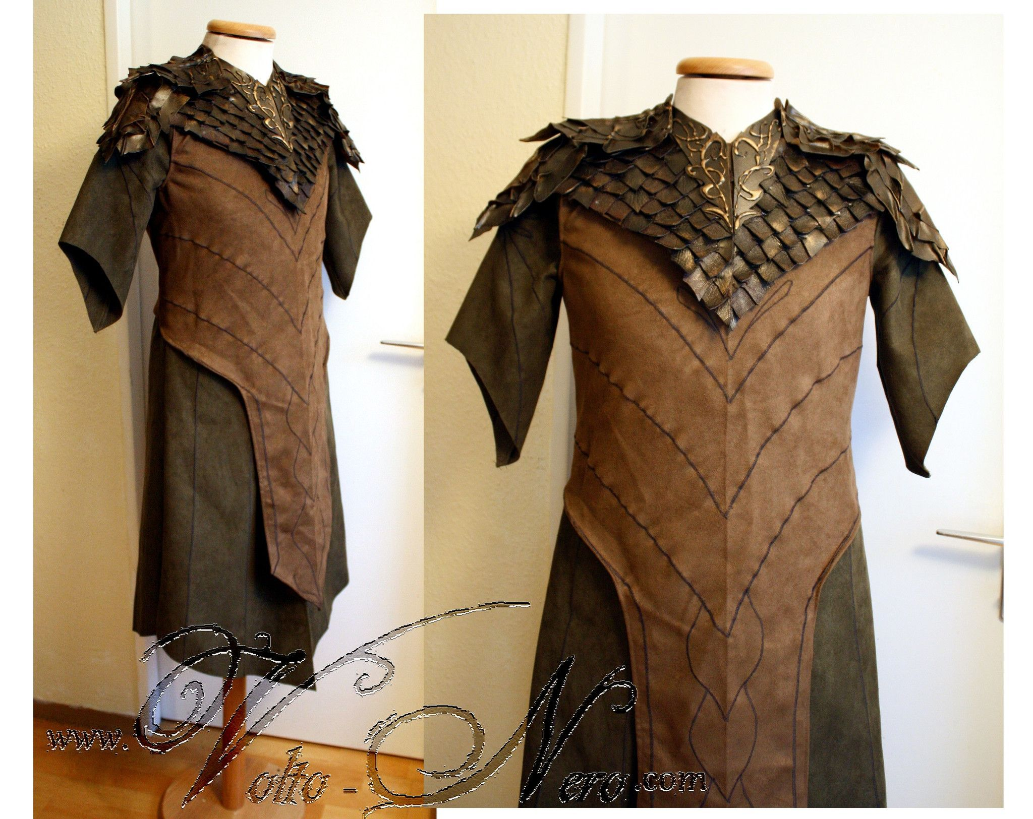 Legolas Armor & Tunic - The Hobbit Elf Costume Lord of the Rings