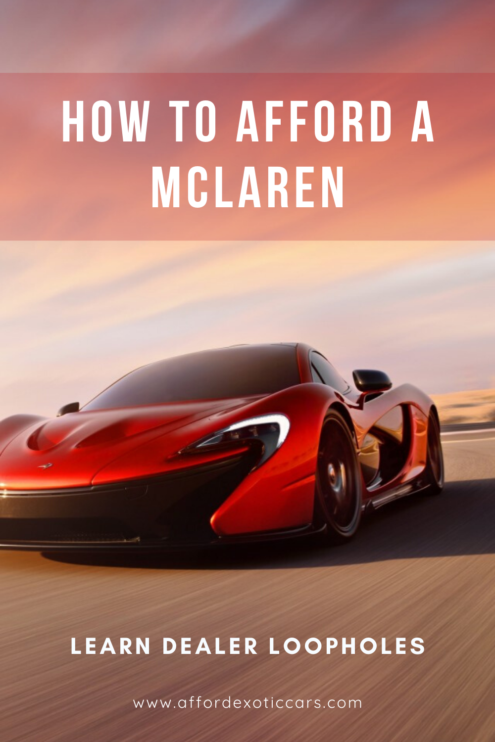 pay monthly exotic car hacks  course