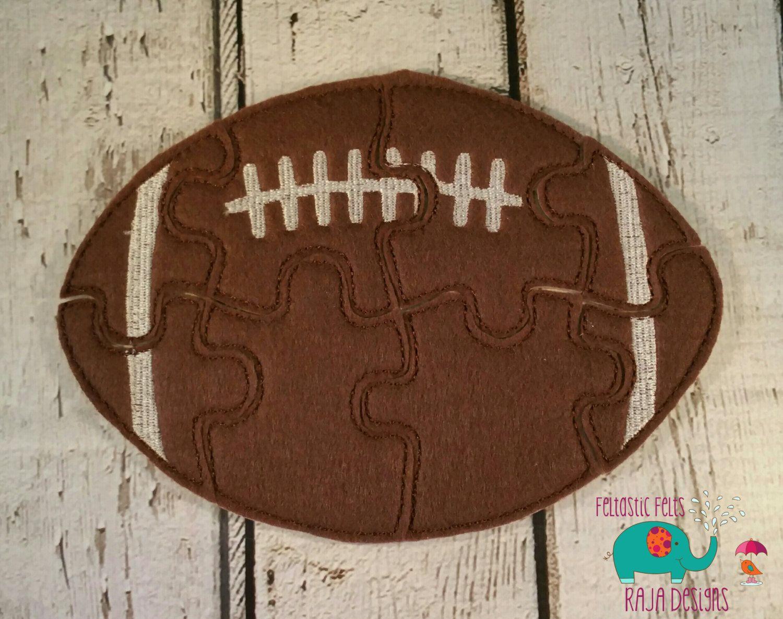 88ef24664b Football felt puzzle