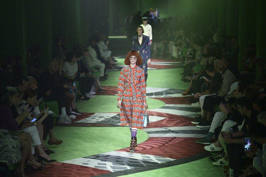 GucciSS17 fashion show