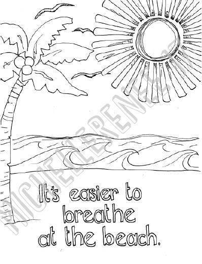 Instantly Download A Unique Hand Drawn Coloring Page As PDF File