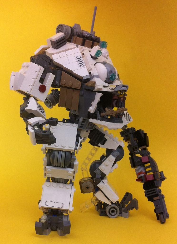 Fan Art Lego Titanfall Atlas Titanfall Forums Lego Titanfall Lego Design Lego