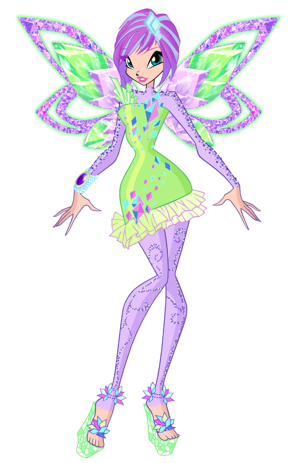 winx club tecna tynix | Tecna Tynix 2D by Winx-Rainbow ...