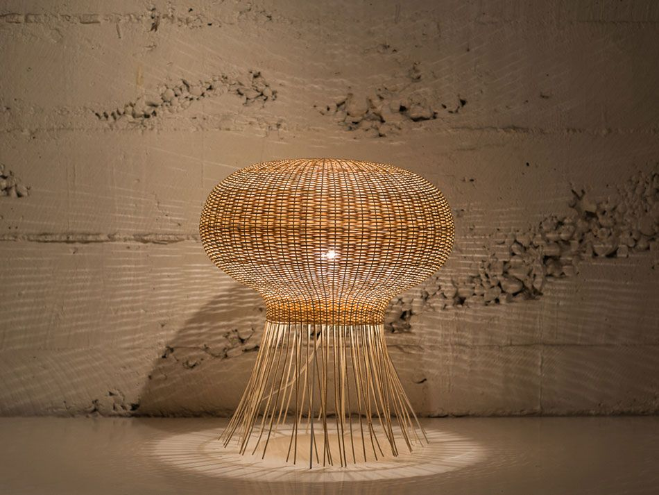 Lovely Claesson Koivisto Rune: Wicker Lamps For Made In Mimbre At LDF   Designboom  | Architecture