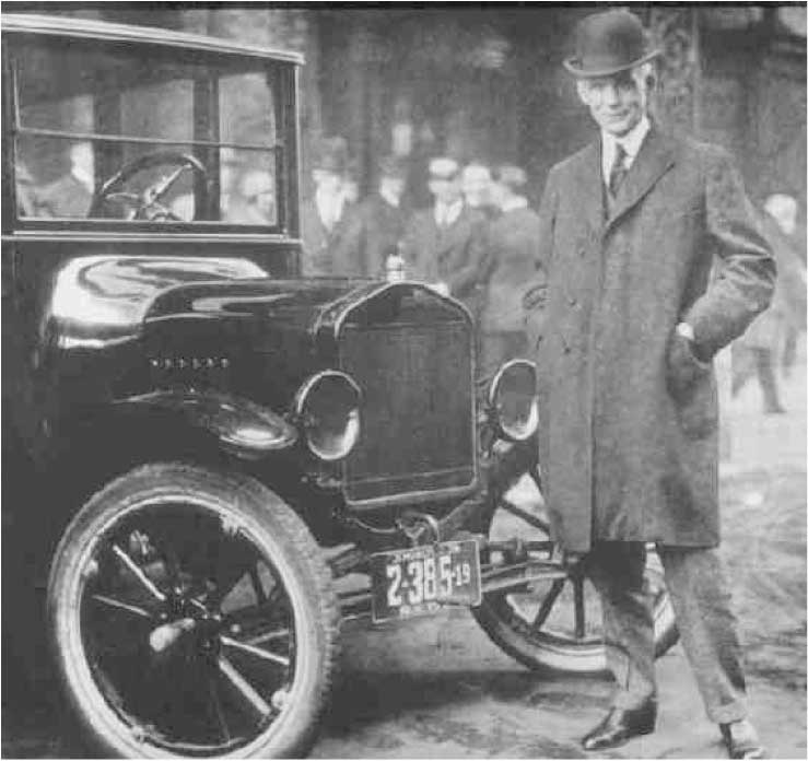 Henry Ford And Model T Inventor Ford Modelos Da Ford Ford