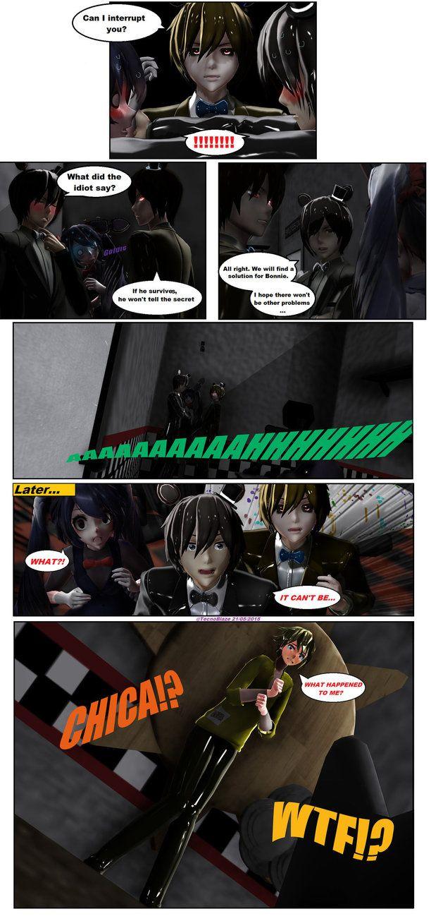 -FNAF Comic 02: I AM A GIRL?! *Part 8*-